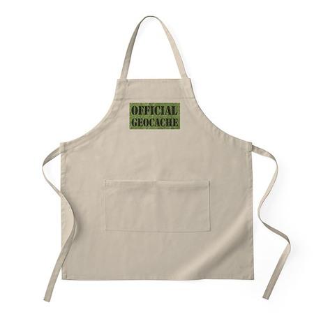 Official Geocache BBQ Apron
