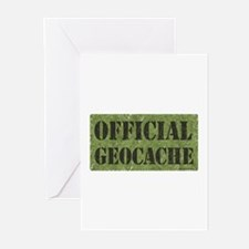 Official Geocache Greeting Cards (Pk of 10)