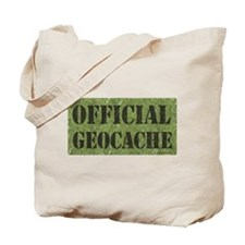 Official Geocache Tote Bag