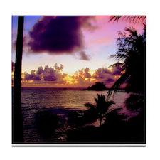 Hana Sunset Tile Coaster