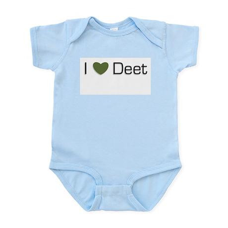 I heart deet Infant Creeper