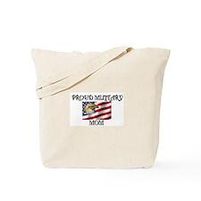 Proud Military Mom... Tote Bag