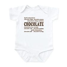 Chocolate Infant Creeper