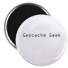 "Geocache Geek 2.25"" Magnet (10 pack)"