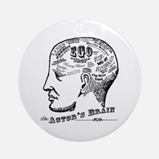 The Actor's Brain Ornament (Round)