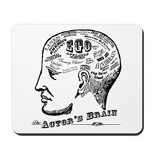 The Actor's Brain Mousepad