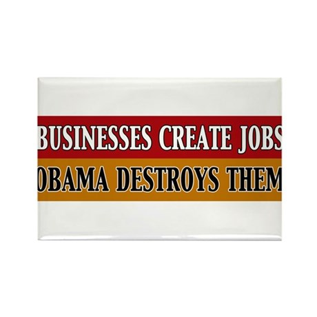 Business Create Jobs Obama Destroys Them Rectangle
