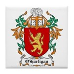 O'Hartigan Coat of Arms Tile Coaster