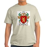 O'Hartigan Coat of Arms Ash Grey T-Shirt