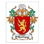 O'Hartigan Coat of Arms Small Poster