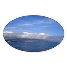 Azores Oval Decal