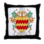 O'Harkan Coat of Arms Throw Pillow