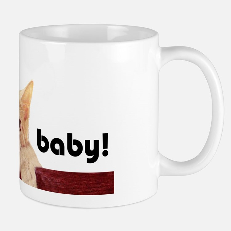 Hang In There Baby Mug