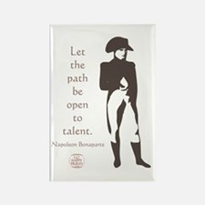 Let the path be open to talent Rectangle Magnet