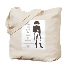 Let the path be open to talent Tote Bag