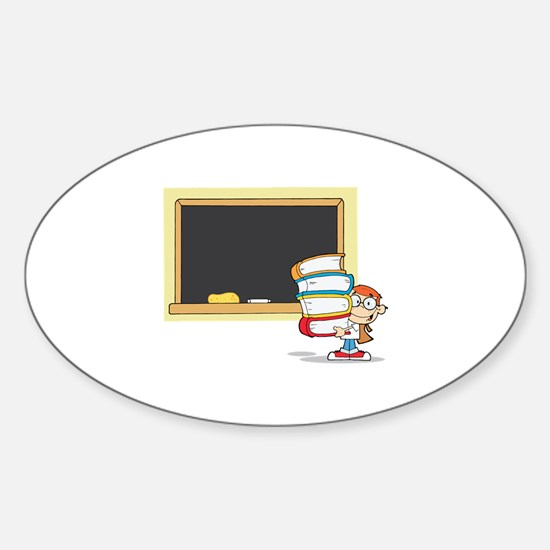 Teacher Sticker (Oval)