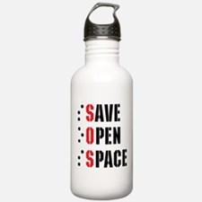Save Open Space Water Bottle