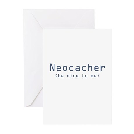 Neocacher Greeting Cards (Pk of 10)