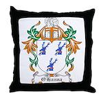 O'Hanna Coat of Arms Throw Pillow