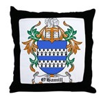 O'Hamill Coat of Arms Throw Pillow
