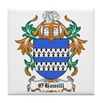 O'Hamill Coat of Arms Tile Coaster
