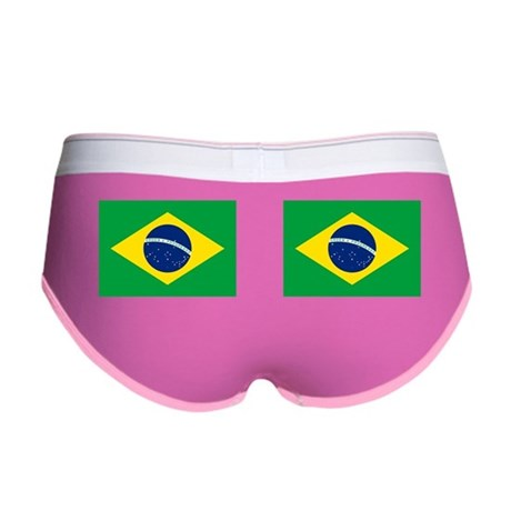 Brazil Flag Women's Boy Brief