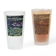 Claude Monet Water Lilies Drinking Glass