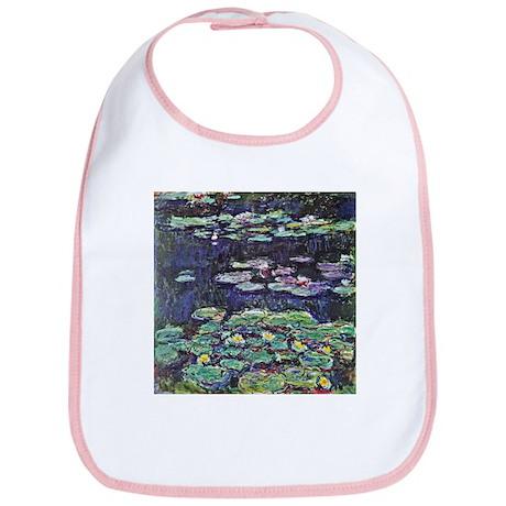 Claude Monet Water Lilies Bib