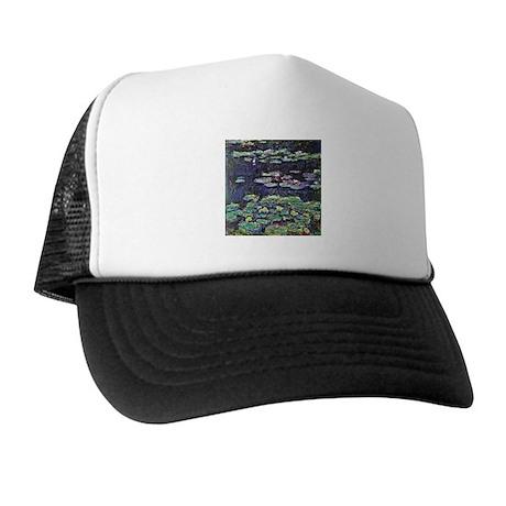 Claude Monet Water Lilies Trucker Hat
