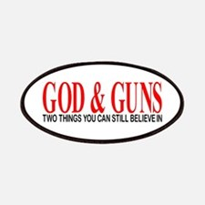 GOD AND GUNS Patches