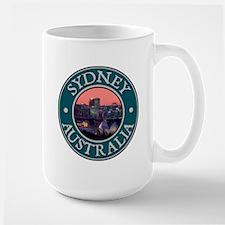 Sydney, Austrailia Large Mug