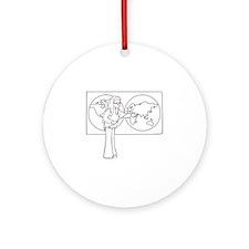 Teacher Ornament (Round)