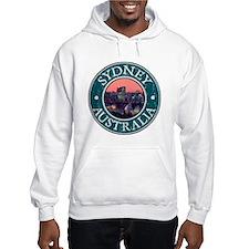 Sidney, AU - Distressed Hoodie Sweatshirt