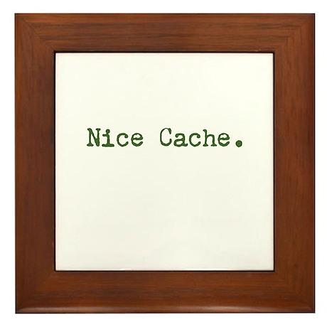 Nice Cache Framed Tile