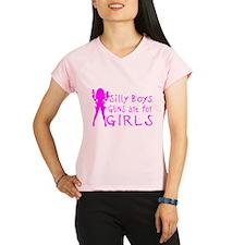 GUNS ARE FOR GIRLS Performance Dry T-Shirt