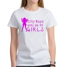 GUNS ARE FOR GIRLS Tee