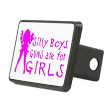 GUNS ARE FOR GIRLS Hitch Cover