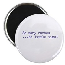 """So Many Caches 2.25"""" Magnet (100 pack)"""