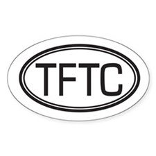 TFTC Oval Decal