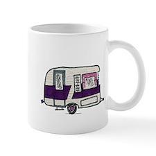 Cutie Purple VIntage Trailer Mug
