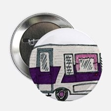 "Cutie Purple VIntage Trailer 2.25"" Button"