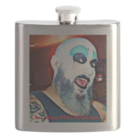Captain Spaulding Flask