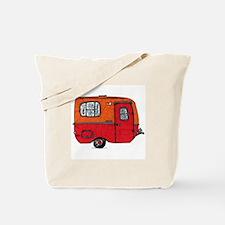 Cute orange boler camper Tote Bag