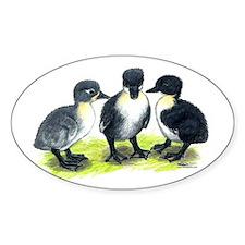 Blue Swedish Ducklings Decal