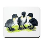 Blue Swedish Ducklings Mousepad