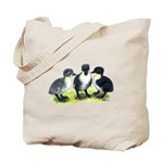 Blue Swedish Ducklings Tote Bag