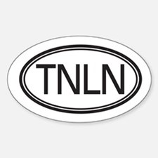 TNLN Oval Decal