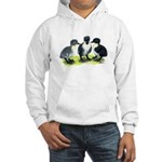 Blue Swedish Ducklings Hooded Sweatshirt
