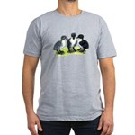 Blue Swedish Ducklings Men's Fitted T-Shirt (dark)
