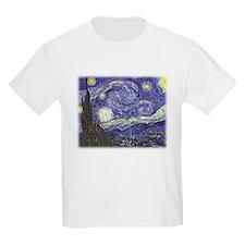 Vincent van Gogh, Starry Night T-Shirt